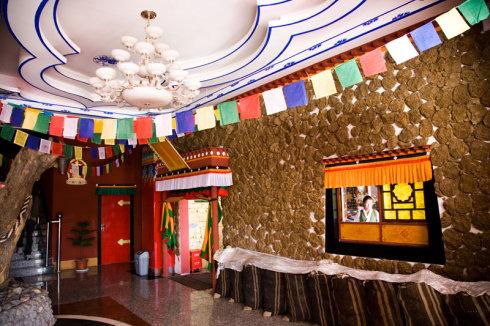 """日喀则市一家非常有名气、古老的藏餐馆——""""吾尔朵厨房"""""""